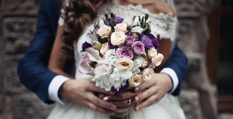 Wedding Bouquet at Hotel Roanoke