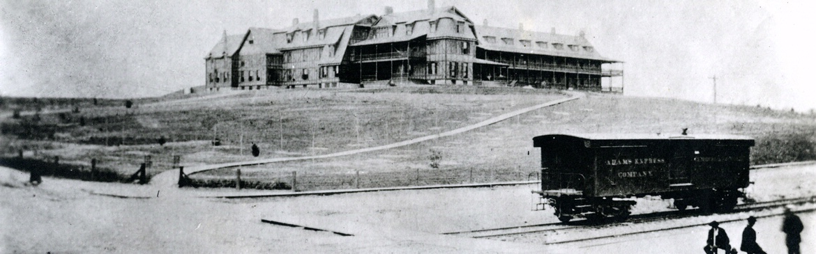 Classic photo of Hotel Roanoke in Virginia