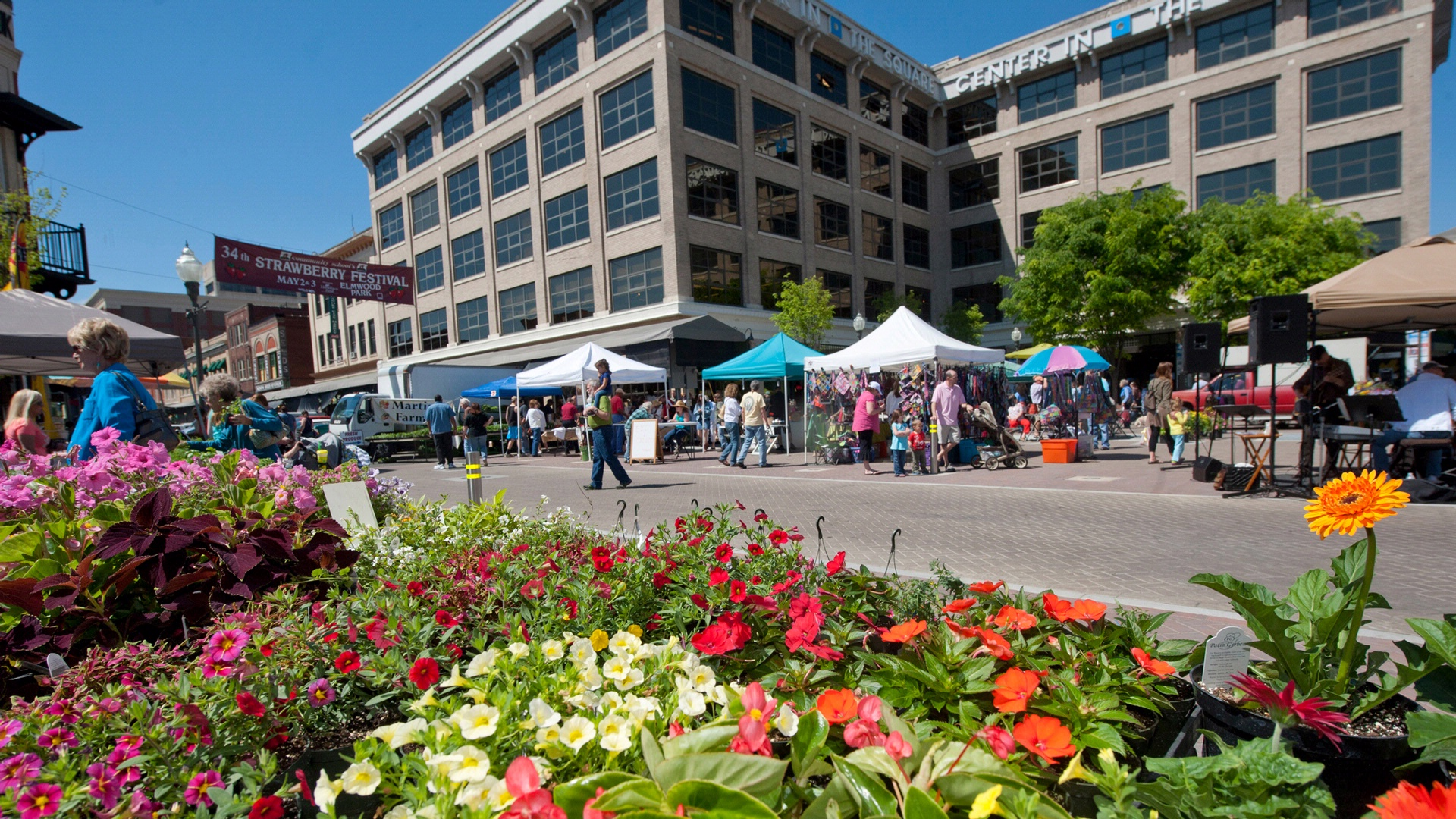 strawberry festival in downtown roanoke