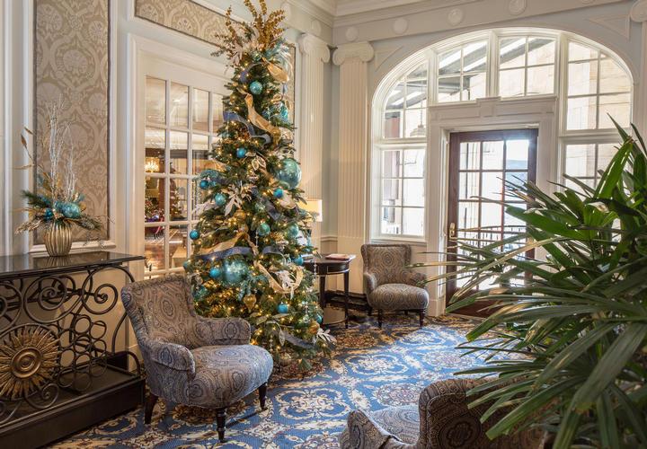 Hotel Roanoke Regency Room Christmas Dinner