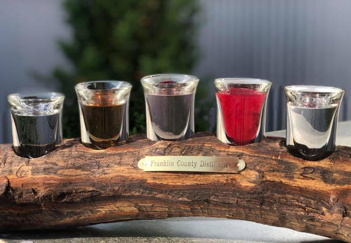 moonshine tasting flight