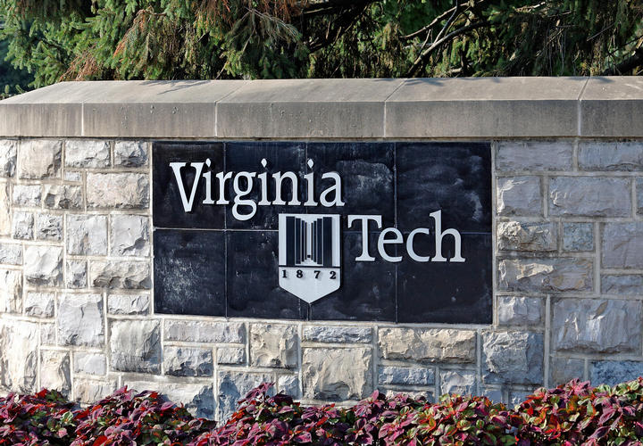 Virginia Tech sign