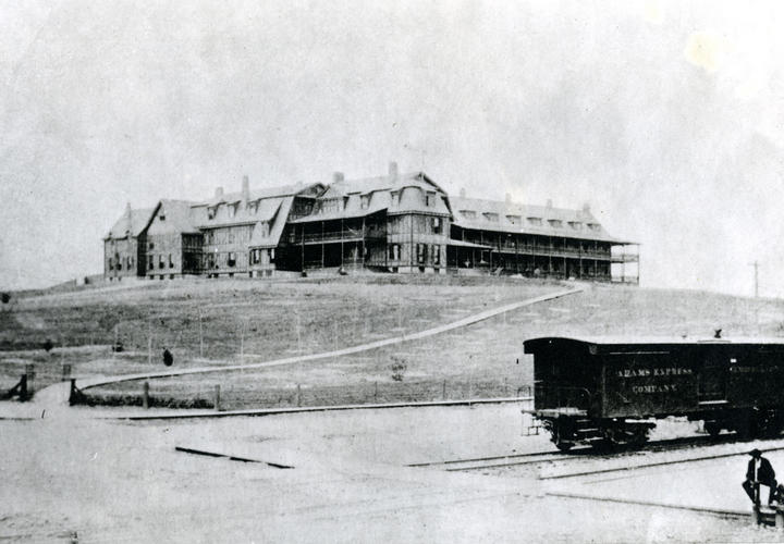Hotel Roanoke in 1882