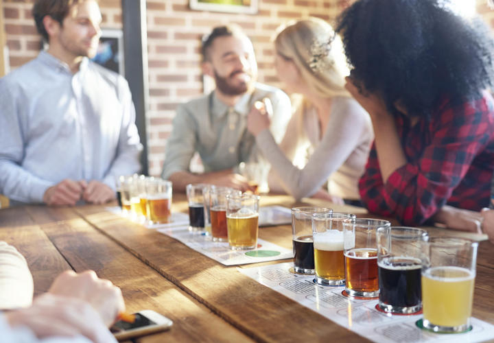 beer tasting flights