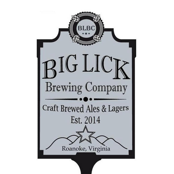 Big Lick Brewing Company sign
