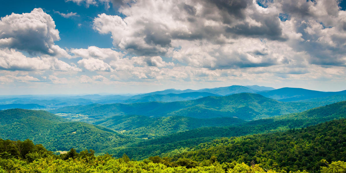 Mountains in Virginia